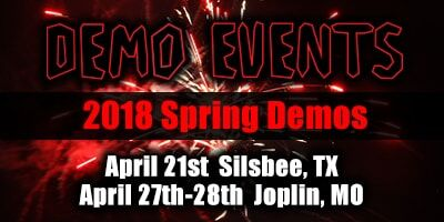 Demo events 2018